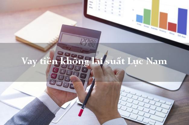 Vay tiền không lãi suất Lục Nam Bắc Giang