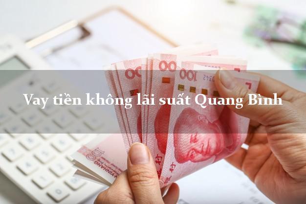 Vay tiền không lãi suất Quang Bình Hà Giang