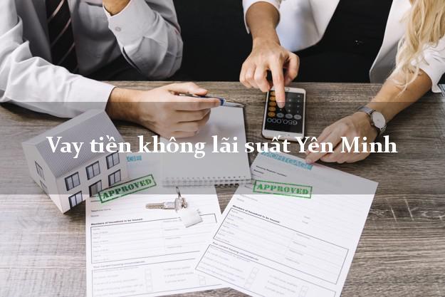 Vay tiền không lãi suất Yên Minh Hà Giang