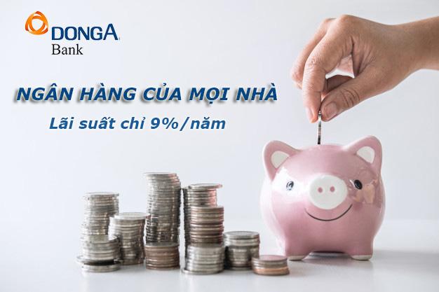 Hướng dẫn vay tiền ngân hàng Đông Á trực tuyến