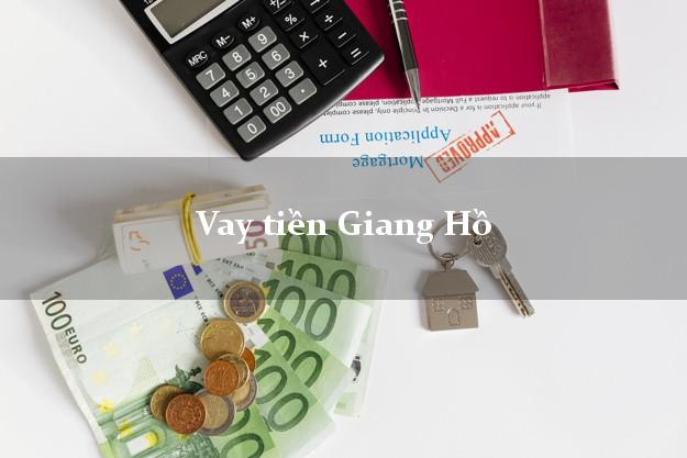 Vay tiền Giang Hồ bằng CMND